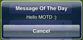 Hello Motd